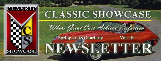 Classic Showcase Spring Newsletter